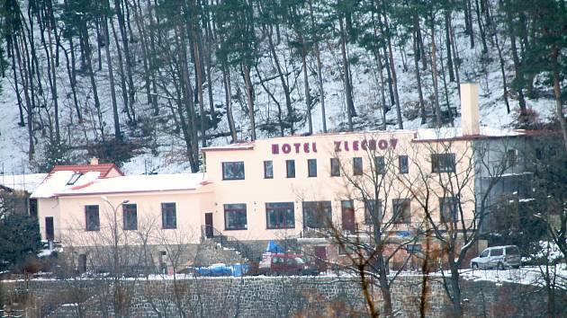 Hotel Zlechov v únoru 2018