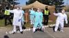 Coronavirus Dance Challenge před prostějovskou nemocnicí