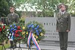 Připomínka konce 2. světové války na prostějovském hřbitově