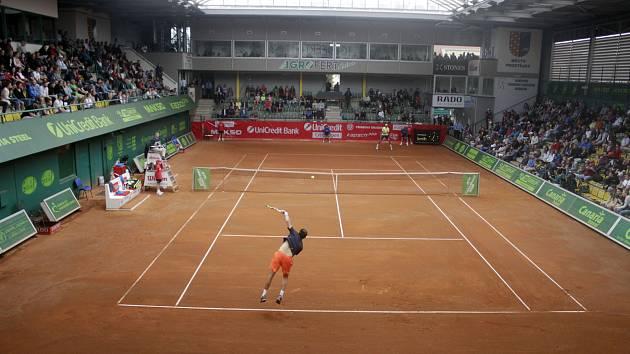 Tenisová hala v Prostějově