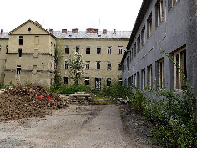Bývalá jezdecká kasárna v Prostějově