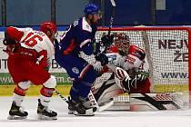 Hokejový zápas Litoměřice vs. Prostějov