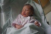 Stella Uherková, Prostějov - Krasice, narozena 29. července, míra 47 cm, váha 2850 g