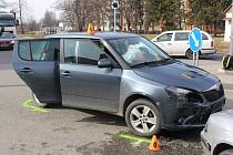 Srážku dvou žen v Olomoucké ulici zavinilo nedání přednosti v jízdě. 9.3. 2020