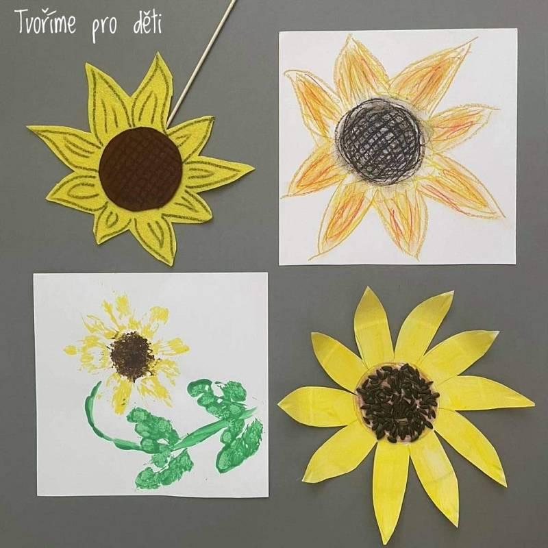 Tvoření s dětmi - Slunečnice