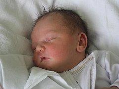 Julie Strupková, Smržice, narozena 14. září v Prostějově, míra 51 cm, váha 3650 g