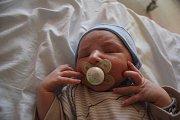 Filip Špaček, Bedihošť, narozen 18. července v Prostějově, míra 50 cm, váha 3320 g