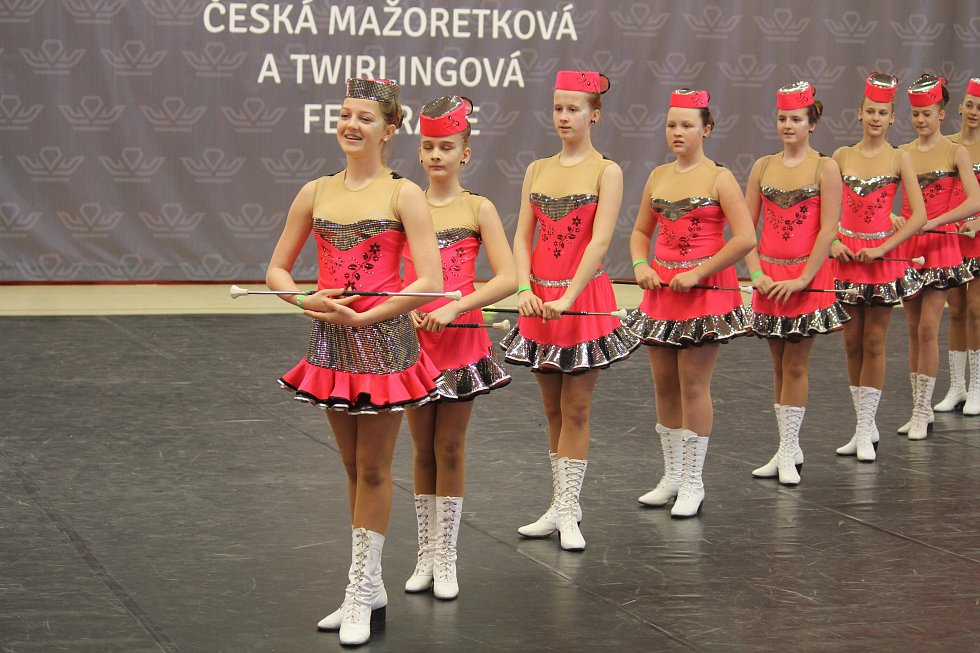 Mažoretky z celé Moravy ukázaly, co umí.