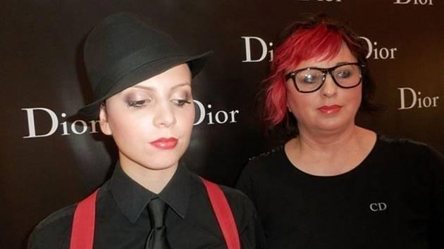 Pro finálové líčení na téma Dior look 2014/2015 Alena Mlatečková zvolila líčení ve francouzském stylu, které je vhodné pro všechny ženy