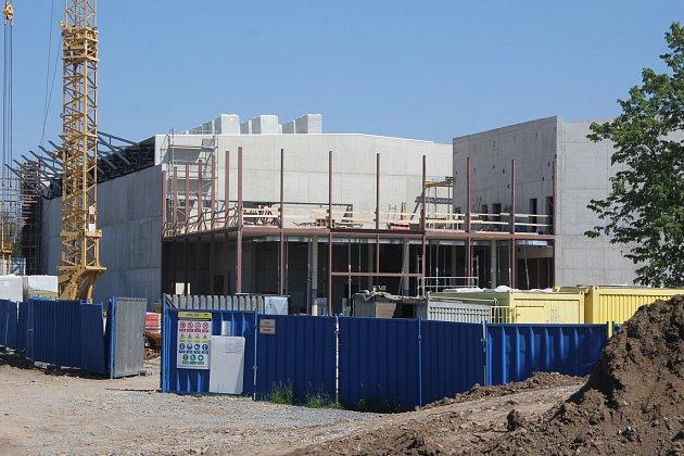 Výstavba Národního olympijského centra vProstějově