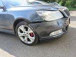 Ve Smržicích se srazila dvě auta. Podle policie jeden z účastníků nehody nedal přednost.