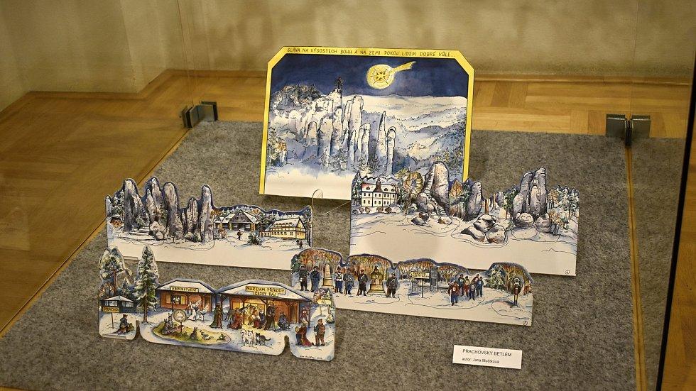 Unikátní výstava papírových betlémů v prostějovském Špalíčku - prosince 2020