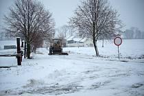 Sníh na Prostějovsku - 11. 12. 2012