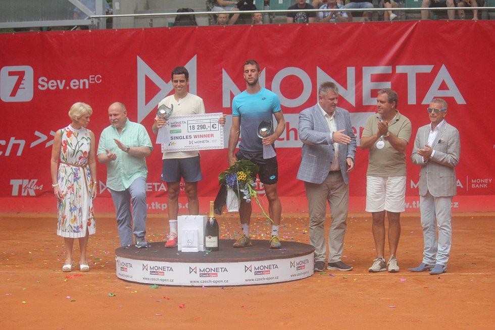 Finále Czech Open v Prostějově.
