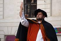 Průvod Karla IV. Ilustrační foto