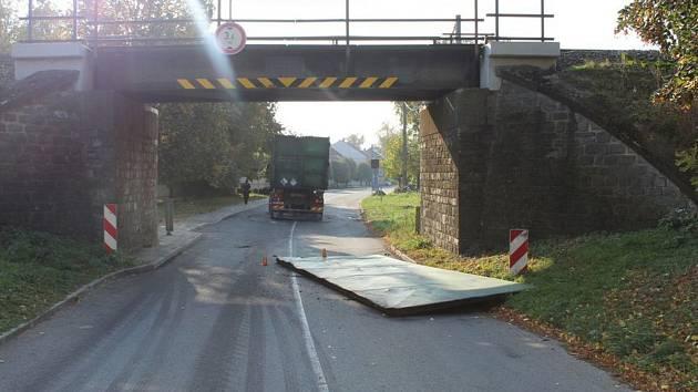Nehoda pod němčickým mostem