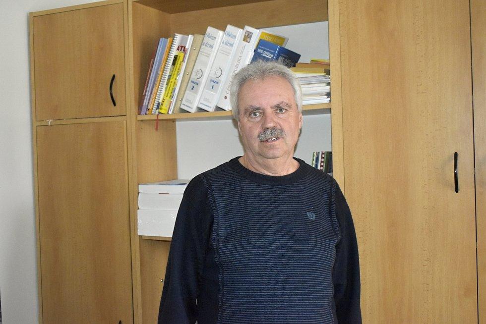 Jaroslav Peška, starosta Mostkovic.