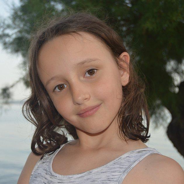 Dominika Nevrlá, 9let, Hluchov