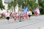 V sobotu se v Olšanech u Prostějova slavilo 100 let založení Sokola. 1.6. 2019