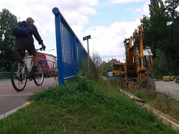 Stavba cyklostezky