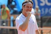 Prostějovský tenista Jan Hájek