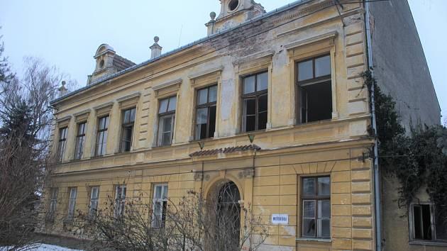 Budova bývalé školky v Hrušce