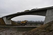 Stavba severního obchvatu v Prostějově - 4.12. 2020