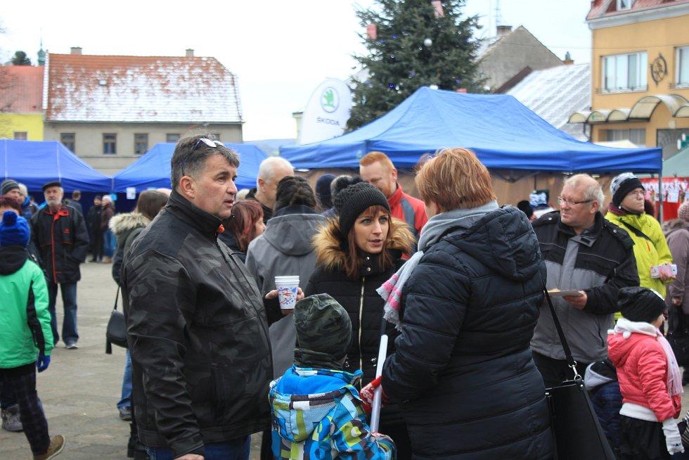 Vánoční trhy v Konici 2019