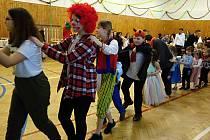 Dětský karneval ve Vrchoslavicích,  23.2. 2020