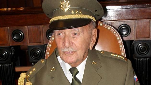 Válečný veterán Alfréd Jánský