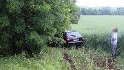 Nehoda na D46 u Brodku u Prostějova