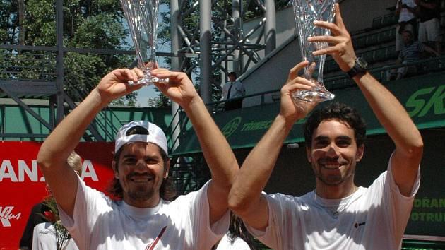 Až z Jižní Ameriky si dojela pro poháry z Prostějova dvojice Delgado- Guzman.