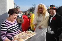 Tištínu v sobotu vládlo masopustní veselí. Místní při výběru masek vsadili na tradici, další experimentovali.