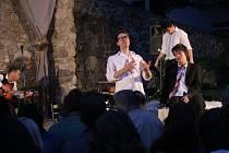 Představení Testosteron divadla Point na plumlovském zámku