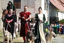 Přijel pan Vok - Historické slavnosti na plumlovském zámku