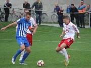 Fotbal, MSFL, 8. kolo: 1. SK Prostějov – TJ Valašské Meziříčí 4:1 (0:1) Karel Kroupa (Prostějov)
