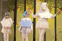 Ptenské dětské divadlo - zkouška na premiéru pohádky Březová víla