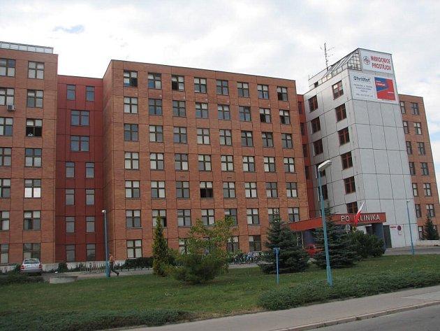 Prostějovská nemocnice.