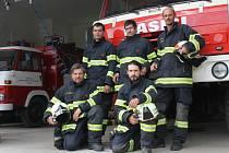 Plumlovští hasiči, Petr Šmíd vlevo dole
