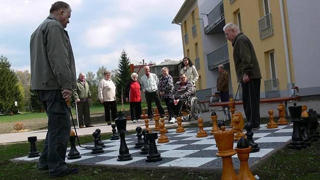 Obří šachy v Čelechovicích