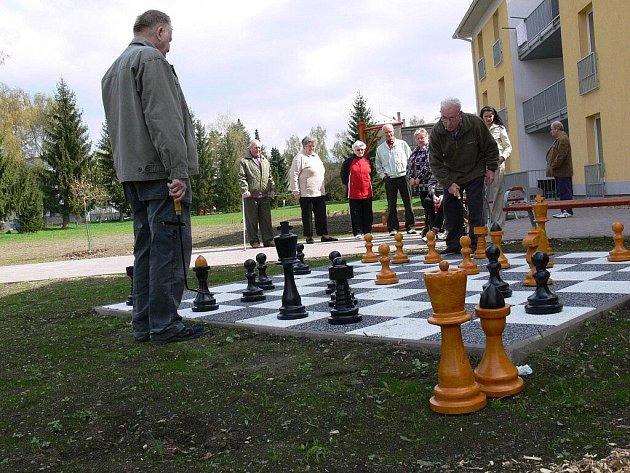 Obří šachy vČelechovicích