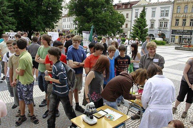 Věda vulicích Prostějova 2011