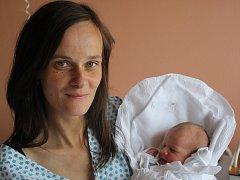 Patricie Poláčková s maminkou Radkou, Obědkovice, narozena 11. října, 45 cm, 2550 g