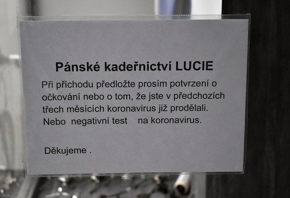 Znovuotevření pánského kadeřnictví Lucie v Prostějově