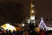 Vánoční atmosféra v Prostějově. Ilustrační foto