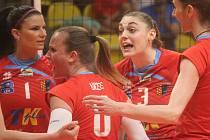 Volejbalistky Prostějova ve finálové sérii s Olomoucí