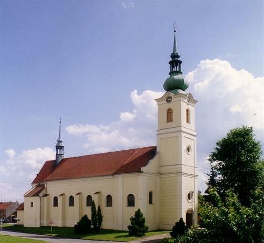 Kostel sv. Bartoloměje vKlenovicích na Hané