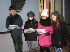Česko zpívá koledy v Němčicích nad Hanou 2015