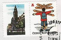 Dlouholetý kurátor výstav Josef Dolívka nechal ke stému výročí založení prostějovské radnice vyrobit limitovanou edici obálek