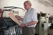 Tiskař Josef Kejzlar pomáhal v srpnu 1968 na svět zvláštním vydáním Straže lidu (předchůdce Prostějovského deníku), které zcela mimořádně vyšly v prostějovské tiskárně na rohu Vápenice a Havlíčkovy ulice.